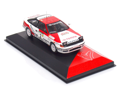 Altaya | M 1:43 | TOYOTA Celica GT4 - Rally de Portugal (1991)