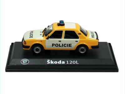 Carmodels SK   M 1:43   ŠKODA 120L - Policie ČSFR (1990)