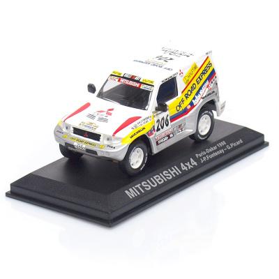 MITSUBISHI Pajero 4x4 #206 - J.-P.Fontenay /G.Picard - Rally Paris Dakar (1998)