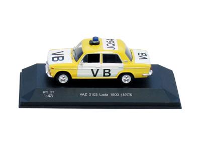 Carmodels SK   M 1:43   VAZ 2103 Lada 1500 - Verejná bezpečnosť ČSSR (1977)