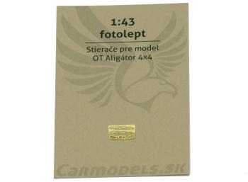 Fotolept - Stierače pre model OT Aligátor 4x4
