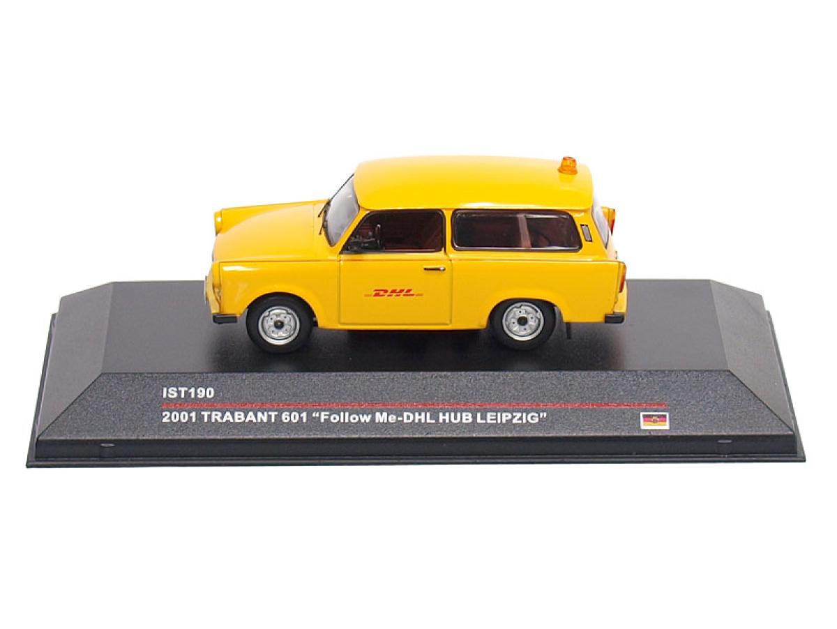 IXO IST | M 1:43 | TRABANT 601 - Follow Me DHL HUB Leipzig
