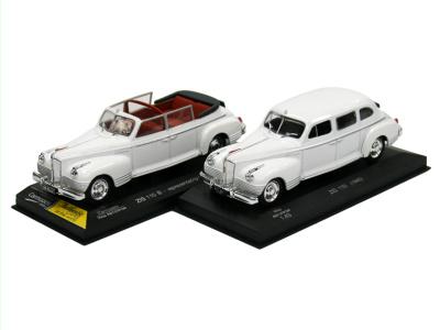Carmodels SK | M 1:43 | ZIS 110 B - Kabriolet (1949) + ZIS 110 (1945)