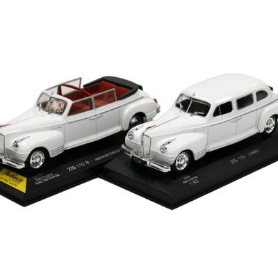 ZIS 110 B - Kabriolet (1949) + ZIS 110 (1945)