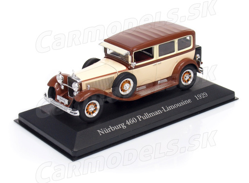 MERCEDES-BENZ Nürburg 460 Pullman (1929)