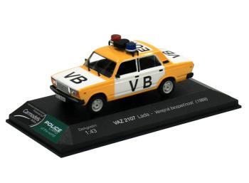 VAZ 2107 Lada - Verejná bezpečnosť ČSSR (1988)