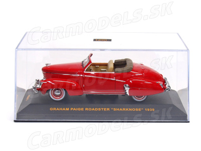 IXO | M 1:43 | GRAHAM PAIGE Roadster Sharknose (1939)