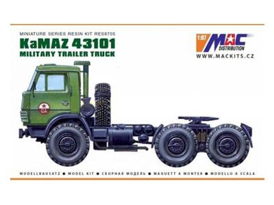 MACmodel CZ   M 1:87   KamAZ 43101 6x6 - Sedlový ťahač