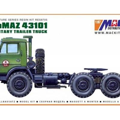 KamAZ 43101 6x6 - Sedlový ťahač