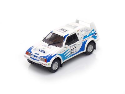 DeAgostini | M 1:43 | VAZ Samara T3 - Rally Paris Dakar (1990)