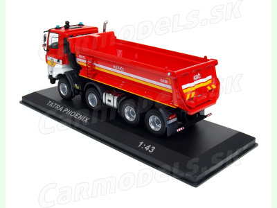 IXO | M 1:43 | TATRA 158 Phoenix - Fire Truck 8x8 Euro 6 HAZZ - Hasiči Nitra SR (2019)