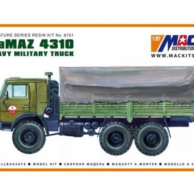 KamAZ 4310 6x6 - Valník s plachtou