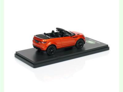 True Scale | M 1:43 | LAND ROVER Range Rover Evoque - Convertible / phoenix orange / ( 2011 )