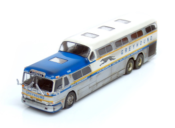 GREYHOUND Scenicruiser Silver Express (1956)