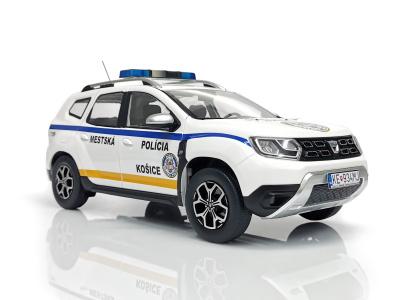 Solido | M 1:18 | DACIA Duster - Mestská polícia Košice (SR, 2020) + Box