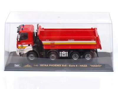 IXO | M 1:43 | TATRA 158 Phoenix 8x8 Euro 6 HAZZ - Hasiči (2019)