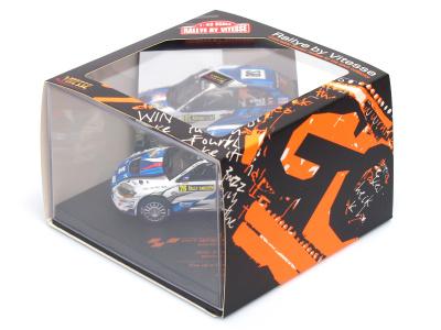 Vitesse | M 1:43 | MITSUBISHI Lancer Evo.IX - #26 M.Semerád / M.Ernst CZ - Rally Sweden 2011