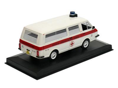 Carmodels SK / DeA | M 1:43 | RAF 2203 Latvija - Ambulancia OÚNZ Košice (1984)