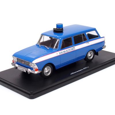 PRELAKOVANIE vlastného modelu MOSKVIČ 427 - Verejná bezpečnosť (1972)
