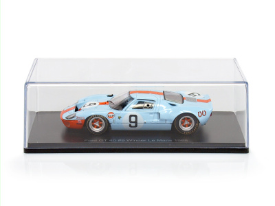 | M 1:43 | FORD GT 40 - #9 Winner 24h LeMans - Rodriguez, Bianchi (1968)
