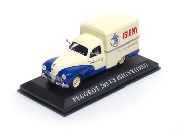 "PEUGEOT 203 U8 ""Isigny"" ( 1953 )"