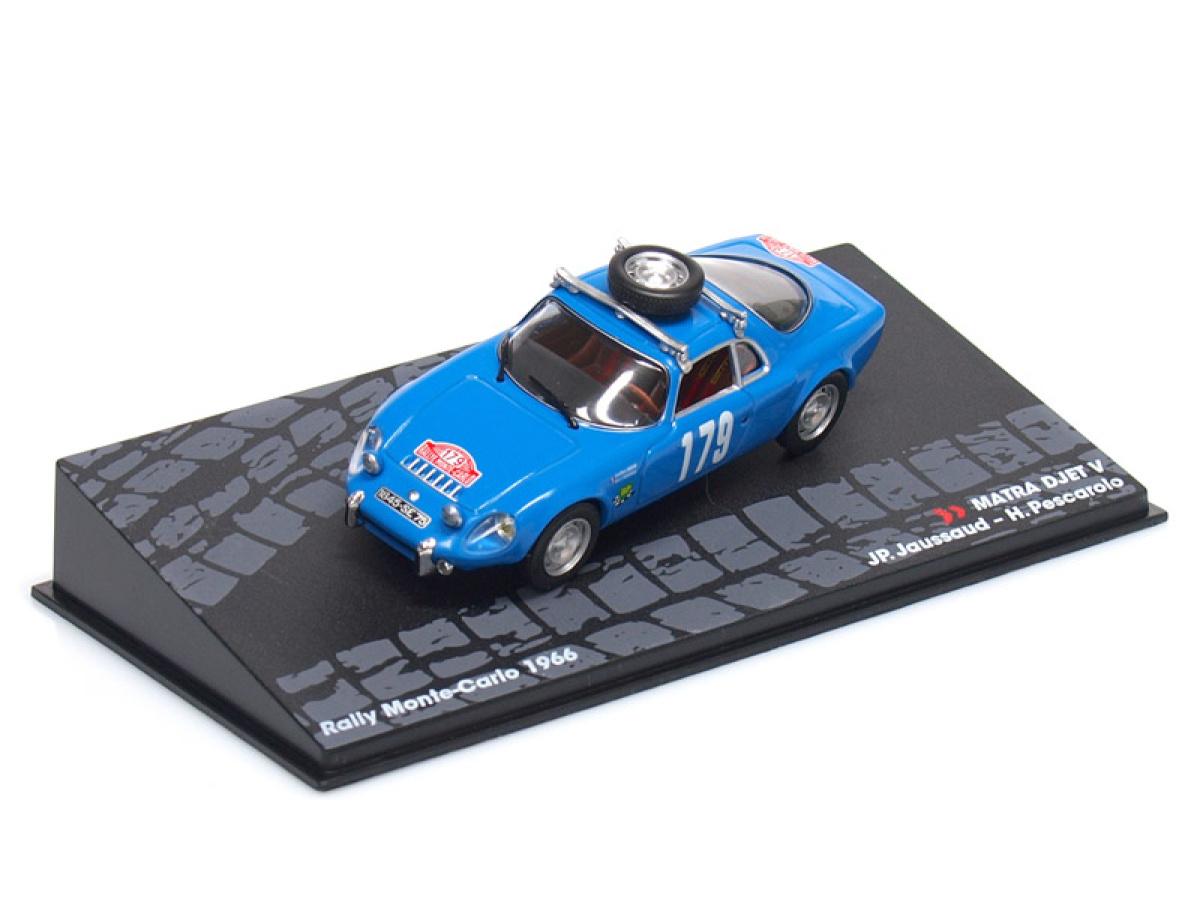 Altaya   M 1:43   MATRA DJET V #179 - JP.Jaussaud /H.Pescarolo - Rallye Monte Carlo (1966)