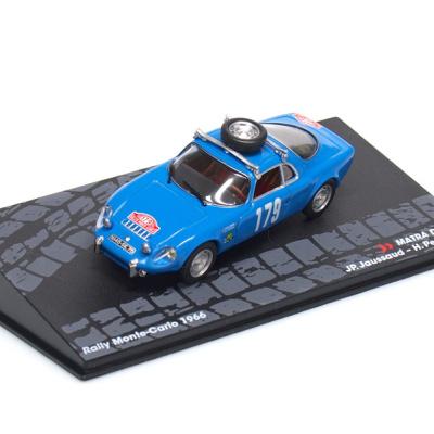 MATRA DJET V #179 - JP.Jaussaud /H.Pescarolo - Rallye Monte Carlo (1966)