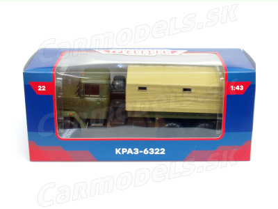 Modimio collections   M 1:43   KRAZ - 6322 6x6 (1994)