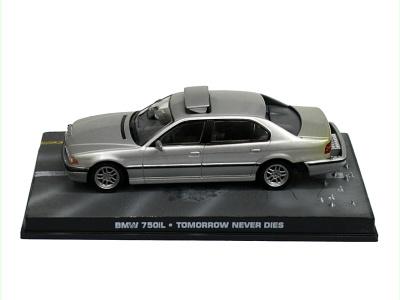 "Eaglemoss Publications | M 1:43 | BMW 750iL - James Bond Series ""Tomorrow Never Dies"""