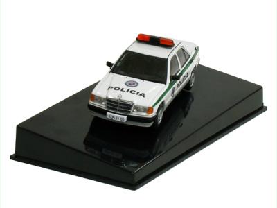 Autoart | M 1:43 | MERCEDES BENZ 190E - Polícia SR (1995)