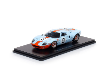 FORD GT 40 - #9 Winner 24h LeMans - Rodriguez, Bianchi (1968)