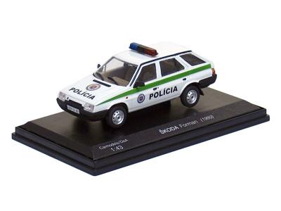 Carmodels SK | M 1:43 | ŠKODA Forman - Polícia SR (1993)