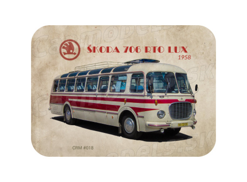 MAGNETKA Škoda 706 RTO Lux (1958)