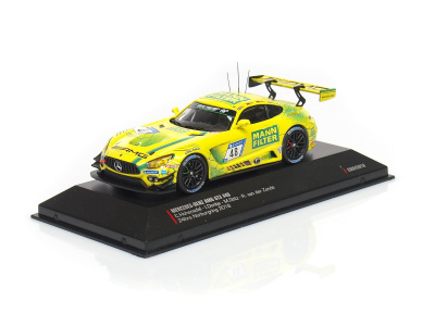 IXO - CMR | M 1:43 | MERCEDES-BENZ AMG GT3 - #48 Team Mann Filter- 24h Nürburgring ( 2018 )
