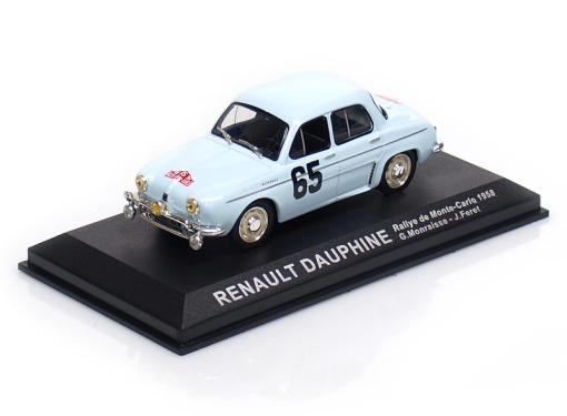 RENAULT Dauphine Gordini # 65 - G.Monraisse / J.Feret - Rallye Monte Carlo (1958)