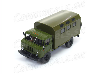 Modimio collections | M 1:43 | GAZ 66 Kung (1964)